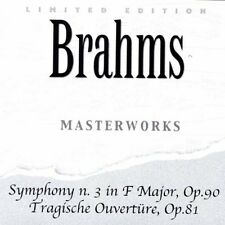 Brahms - Symphony 3 in F major, Tragische Overture, Op.81    CD NEU OVP
