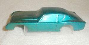 Avanti Blue Body 1/24th scale Revell Vintage Original Slot Car Never Mounted