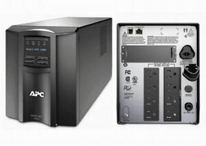 APC SMT1000 Smart-UPS 1000VA 700W 120V LCD Tower Power Backup New Batteries SUA