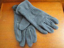Columbia Gloves Fleece Soft Shell Warm Womens Sz M Charcoal Gray Sportswear