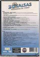 rare SALSA 2 dvd set JERRY RIVERA puerto rican power GRAN COMBO Guayacan DLG