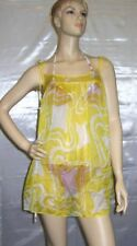 Milly Cabana Canry Color Swimsuit Cover Up Dress Size M
