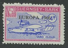 Guernsey SARK 1966 Europa 4d PROOF unissued colour + value