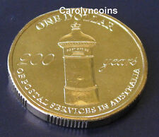 2009 $1 Coin 200 Years of Postal Services in Australia One Dollar UNC condition
