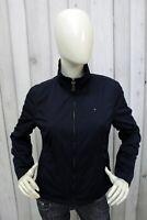 TOMMY HILFIGER Donna Taglia M Giubbotto Blu Giubbino Jacket Coat Giacca Woman