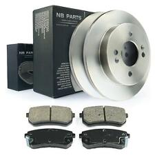 Bremsscheiben + Bremsbeläge hinten 234mm voll Hyundai i10 Kia Picanto mit ABS