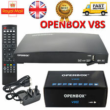Openbox V8s Digital FREESAT Pvr Full Hd Tv por satélite receptor Canal Caja uk-new
