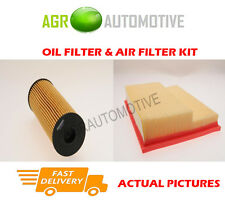 PETROL SERVICE KIT OIL AIR FILTER FOR MERCEDES-BENZ C200 2.0 163 BHP 2000-01