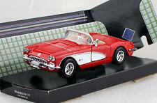 Chevy Chevrolet Corvette 1959 rot 1:24 Motor Max Modellauto 73216
