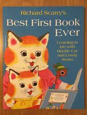 Richard Scarry's Best First Book Ever Brand New Paperback Book