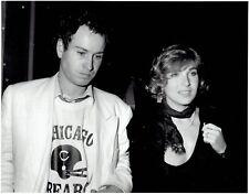 1986 Original Photo John McEnroe Tatum O'Neal at Los Angeles nightclub Roxy