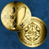 Frankreich - French Excellence - Berluti - 10 Euro 2020 Gold PP - TOP