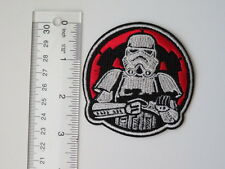 Disney STAR WARS Imperial Storm Trooper Embroidered Iron On Applique Patch