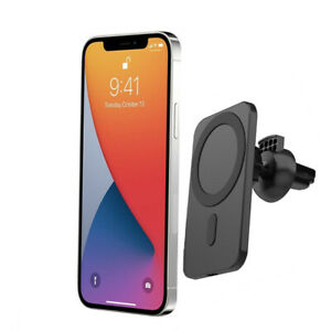 Mag safe Car Mount Wireless charger with for iPhone 12/12 Pro/12 mini/12 Pro Max