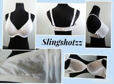 """40C"" *Hanes Fit Perfection G888* White Lined Underwire Full Coverage Bra"
