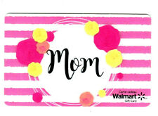 Walmart canada MINT GIFT CARD MOM 2019 BILINGUAL RECHARGEABLE !