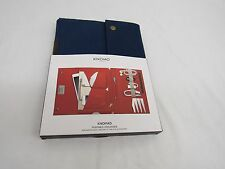 "Knomo Balham Knomad Mini Portable Organiser For iPad Mini & 8"" Tablets Blue"