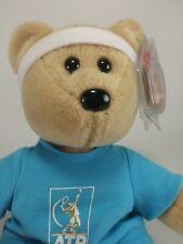 TY Beanie Baby Roger Federer ATP Beanbag Plush Bear