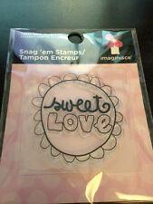 "Imaginisce Sweet Cheri ""Sweet Love"" Clear Stamp!"