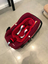 Maxi Cosi Pebble Plus Car Seat - Good condition - Red - iSize