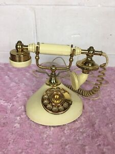 Vintage French Style Rotary Dial Phone   WESTERN ELECTRIC  Made in Korea