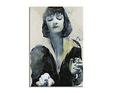 90x60cm PAUL SINUS Splash Art Gemälde Uma Thurman Pulp Fiction Aqua Geschenk