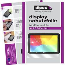 3x LG G Pad 10.1 Pellicola Prottetiva Transparente Proteggi Schermo