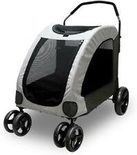 Petbobi Dog Stroller for Large Pet Jogger Stroller 120 lb. Capacity Breathable