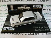 OPE140R 1/43 IXO designer serie OPEL : ASCONA B 400 C JORDAN