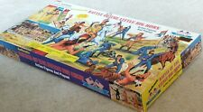 BMC BATTLE OF THE LITTLE BIG HORN! Authentic 112pc  PLAYSET! Custer- 7th -Sioux!