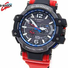 Rare New CASIO G-SHOCK GRAVITYMASTER GPW-1000RD-4 MASTER OF G RESCUE RED MB6