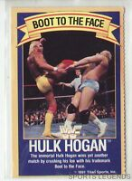 1991 WWF WWE Good Humor Ice Cream Hulk Hogan very rare