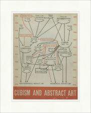 Cubism and abstract art Alfred Hamilton Jr. Barr 1936 impresiones plakatwelt 910