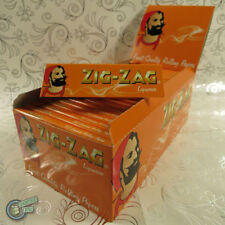 50 packets box ZIGZAG ZIG ZAG Liquorice Cigarette Rolling Paper Papers