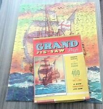 TOWER PRESS Vintage Jigsaw Puzzle 'THE GALLEON' Ship OLD Complete