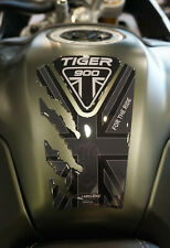 Paraserbatoio in resina gel 3D per moto compatibile Triumph Tiger 900 GT e Rally