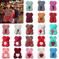 Artificial Rose Flower Bear Toys Teddy Valentine / Wedding/ Birthday Lover Gift