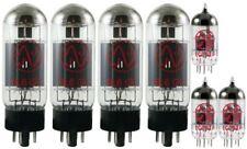 Carvin X-100 / X-V112 / X-V212 100 watt-New PREM JJ ELECTR Full Tube Replace Set