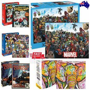 Marvels/Superheroes/Spiderman/HARRYPOTTER 500/1000/3000pcs DELUXE Jigsaw Puzzle