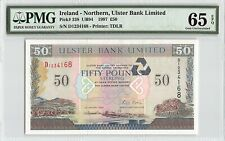 Northern Ireland, Ulster Bank 1997 P-338 Pmg Gem Unc 65 Epq 50 Pounds