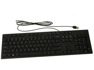Lot of 5 NEW Genuine Dell KB216 QuietKey USB Wired Slim Keyboard N6R8G RKR0N