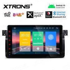 "9"" Android 10.0 Car GPS Stereo DAB Radio OBD2 Head Unit for BMW 3 Series E46 M3"