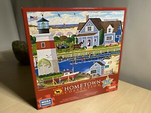 """HOMETOWN COLLECTION 1000 Piece Puzzle 'Rhode Island In The Spring' 26.7""""x18.9"""""""