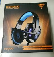 G9000 BENGOO / KOTION EACH Gaming Headset PS4, PC, Xbox One, Noise canceling NEW
