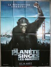 LA PLANETE DES SINGES Les Origines Affiche Cinéma / Movie Poster 160x120