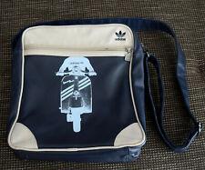 Adidas Vespa Sir Bag / Messenger Umhängetasche - Royal Blue Blau Roller - Rar