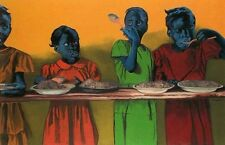 "African American Black Art-""Soup Kitchen"" by Antonio L. Roberts"