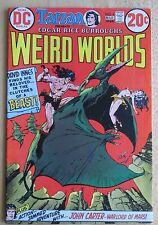DC COMICS, 1973 TARZAN WEIRD WORLDS #4 , Good Condition