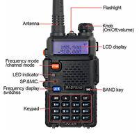 Two Way Radio Scanner Handheld Police Fire Transceiver EU Walkie Talkies HAM NE