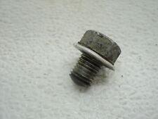 Honda XR75 XR 75 #5246 Engine Oil Drain Plug